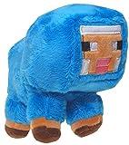 Minecraft 7184 Schaf Plüsch Spielzeug, Blau, 18 cm