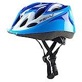 Babimax Kinder Fahrradhelm Jugend Skifahren Sicherheit Schutzhelm Mountainbike (Blau)