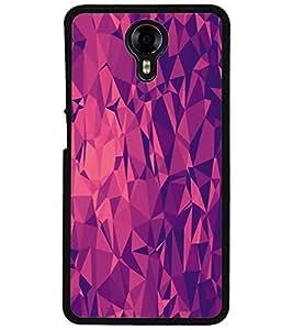 ColourCraft Diamond Pattern Design Back Case Cover for MICROMAX CANVAS XPRESS 2 E313