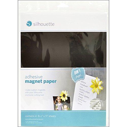 Silhouette Papier aimanté adhésif