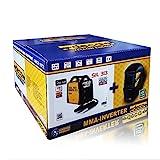 Saldatrice inverter Deca Sil 313 + Maschera a caschetto WM23