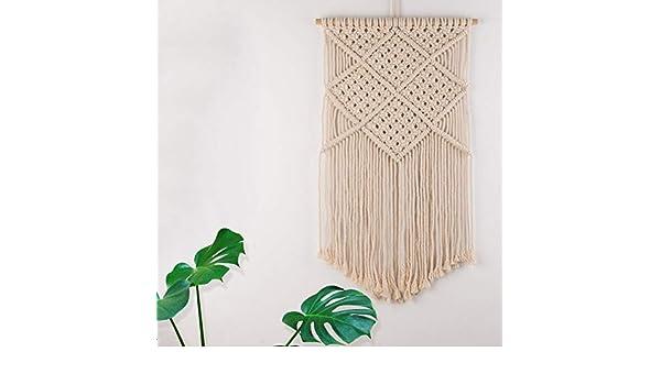 Amazon.de: makramee woven wand aufhängen boho chic home art decor
