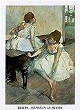 1art1 36292 Edgar Degas - Danseuse Au Repos Poster Kunstdruck 30 x 24 cm