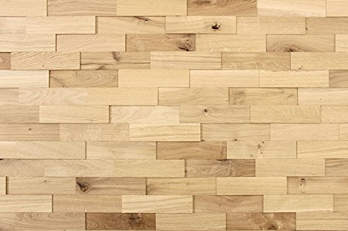 wodewa Wandverkleidung Holz 3D O...