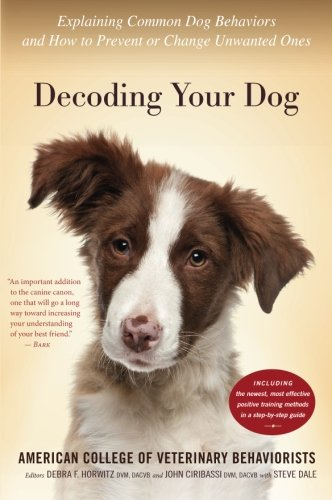 Decoding Your Dog: Explaining Common Dog Behaviors and How to Prevent or Change Unwanted Ones -