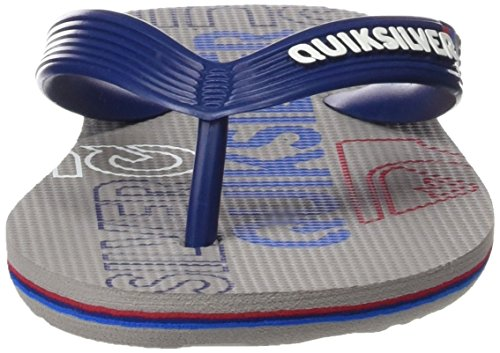 Quiksilver Molokai Nitroyt B Sndl, Plateforme plate garçon BLUE/GREY/BLUE