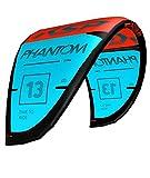 KSP Phantom Red/Blue 10m + Barre 47cm + New Fast Pump Kite aile All Around freeride Wave pour Kite Surf