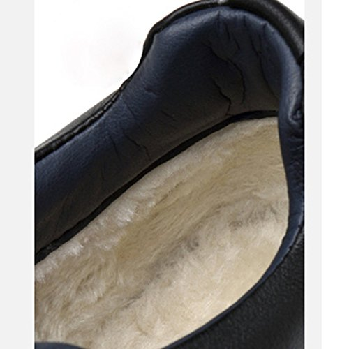 Chaussures De Sport Décontractées Pour Hommes Chaussures Derby En Coton Chaud En Dentelle Martin Boots 2