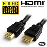 World2view™ High Quality HDMI Male to HDMI Male Cable for Computer monitors, Televisions, Desktop, Laptop, Projector - 1.5 Meter