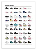 Affiche - Art - Sneakers (baskets) mythiques - 50 x 70 cm