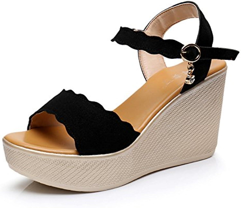 9dcdda597f1 ZXCB Women s Summer Comfort Comfort Comfort Sandals Peep Toe Ankle Strap  High Heels Platform Party Shoes