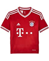 adidas Kinder kurzärmliges Trikot FC Bayern Home Jersey Youth
