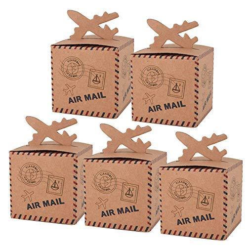 0 Stück Mini Süßigkeiten-Box, süße kleine Süßigkeiten-Box für Weihnachten, Party, Geburtstag, Jahrestag Dekoration ()