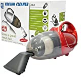 VelKro Household Portable Lightweight Mini Vacuum Cleaner for Blowing and Sucking Dual Purpose (Red)
