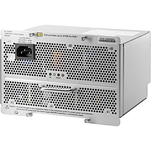 Hewlett Packard J9828A 5400R PoE+ Power Supply (700 Watt, ZL2) (Packard Module Power Hewlett)