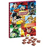 DC Comics Justice League Adventskalender mit Vollmilchschokolade für Weihnachten 2018 (Order Before 27TH of November for Express DELIVERY)