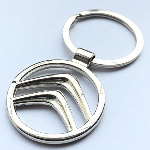 itech-r-citroen-chrome-metal-car-logo-keyring-key-fob-keychain