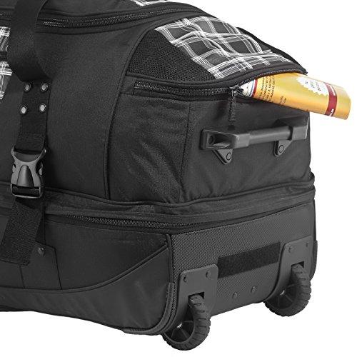 4efd050760585 ... Rada Reisetasche mit Rollen RT 22 Reisetasche in verschiedenen Farben  (black points) check