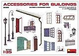 MiniArt 35585 Accessories for Buildings Modellbauzubehör, verschieden