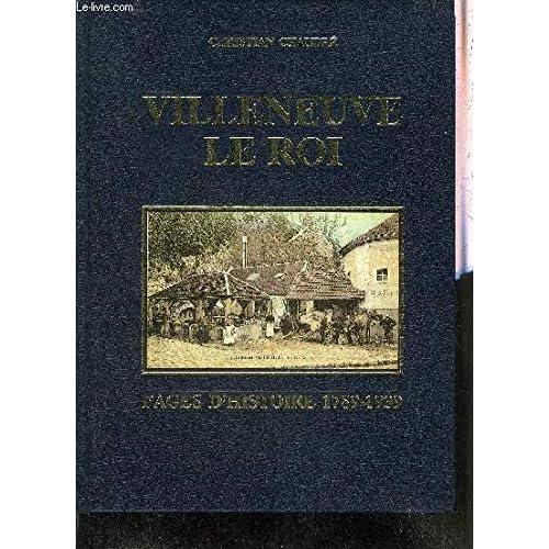 Villeneuve-le-Roi : Pages d'histoire