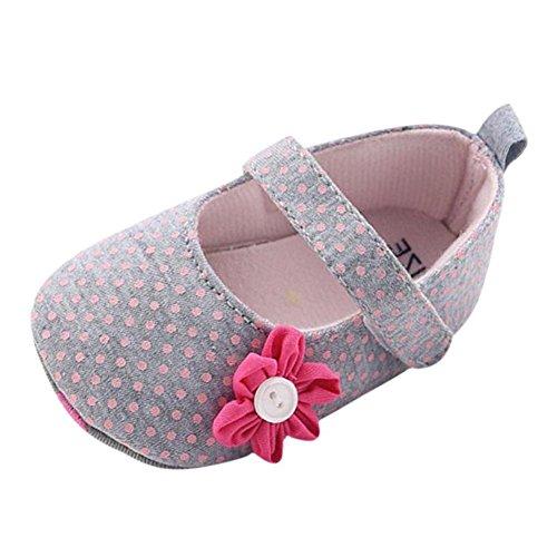 Hankyky Baby Kind Mädchen Junge Anti Skid Weiche Sohle Lauflernschuhe Sneaker Krippeschuhe Kleinkind Schuhe (0 ~ 18 Monate) C