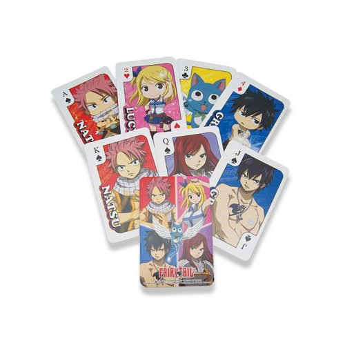 Fairy Tail 52 x Playing Cards Pokercards Original & Licensed avec LIVRAISON GRATUITE