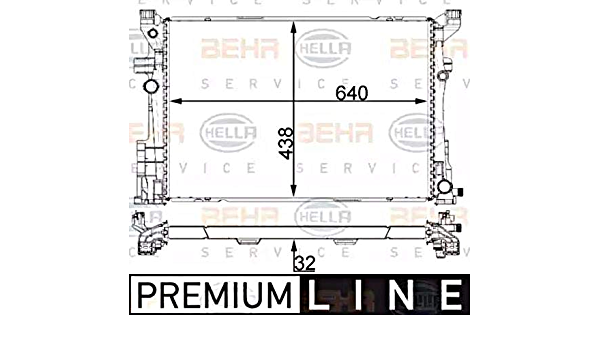 BEHR HELLA SERVICE 8MO 376 726-231 *** PREMIUM LINE *** /Ölk/ühler Automatikgetriebe