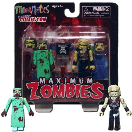 Marvel Minimates NYCC 2011 New York Comic Con Exclusive 2Pack Maximum Zombies ()
