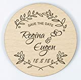 Manschin Laserdesign Save The Date - Magnet - Einladung - Hochzeitseinladung - Individuell graviert (25)