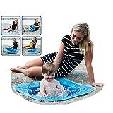 Smart Planet Pop-Up Strand Pool für Kleinkinder - 80 x 80 x 15 cm Planschbecken für Kinder zum...