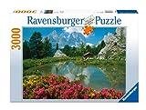 Ravensburger 17024 Passo di Sella, Dolomiti  Puzzle 3000 pezzi immagine