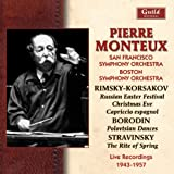 Oeuvres De Rimsky-Korsakov, Borodine, Stravinsky