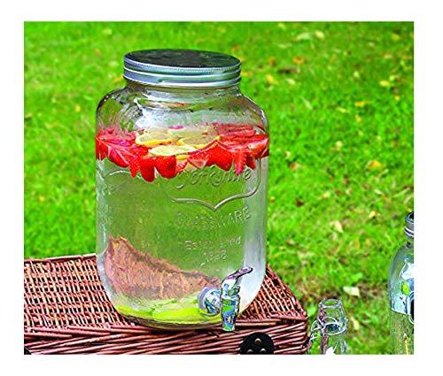 GLAS GETRÄNKE / BIER DISPENSER 8L GLAS MASON JAR HOME / OUTDOOR / PICNIC BAR UND PARTEIEN (GETRÄNKGLAS) -