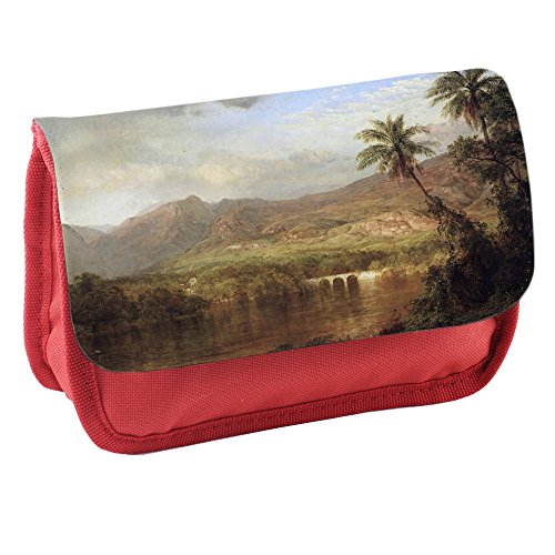 frederick-edwin-church-tropical-scene-rouge-ecole-enfants-sublimation-haute-qualite-polyester-trouss