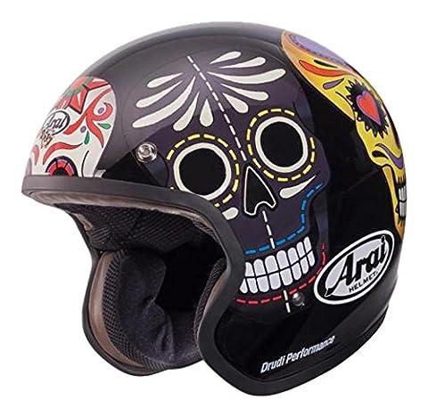 Arai 193701Jethelm Freeway Classic Skull, mehrfarbig, Größe XXL