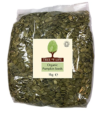 Price comparison product image Tree of Life Organic Pumpkin Seeds 1 Kg