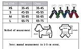 Cutepet Komfortables Hundegeschirr Atmungsaktives Hundegeschirr Aus Weichem Gewebe Reflektierend Sichere Reise In Der Nacht VH-90136,Red,XS