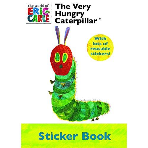 Die sehr hungrige Raupe Aufkleber Buch & Aufkleber Party Geschenk Beschäftigungsset Kinder