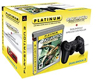 Pack Dual Shock PS3 + Uncharted: Drake's Fortune
