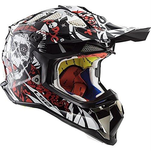 LS 2Cross Casco LS2mx470subverter Offroad Acción Helmet