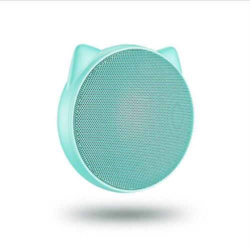 Unbekannt Mini Bluetooth Lautsprecher Drahtlose Outdoor Square Dance Audio Reiten Tragbare Mini Sound Kreatives Geschenk,Blue (Lautsprecher Außenbereich Den Drahtlose Für)
