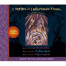 """A Series of Unfortunate Events – Lemony Snicket Gift Pack: 7–9: """"The Vile Village"""", """"The Hostile Hospital"""", """"The Carnivorous Carnival"""" Nos.7-9"""
