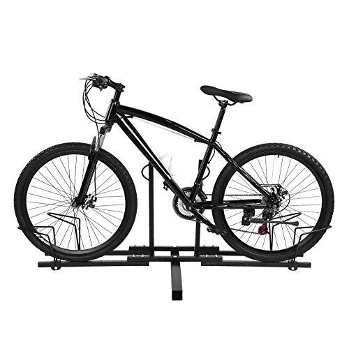Portabici da Tetto,Portabicicletta da Tetto Auto,Portaciclo per Auto Modello in Metallo,per a Biciclette di Trasporto dell'automobile,150 * 60 * 60cm