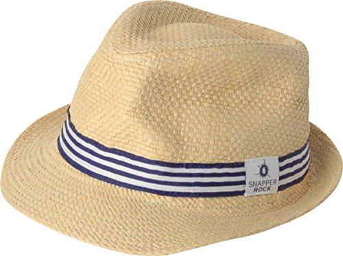 Fedora Hut für Babies & Kinder Jungen & Mädchen am Strand, Pool und Drauβen Blau L, 7-14 Jahren ()
