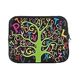 YSJXIM Design benutzerdefinierte abstrakte Bunte Buchstaben hülse weiche Laptop Tasche Tasche Haut für air 11