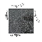 25 kg Basaltsplitt Anthrazit Gartensplitt Ziersplitt Deko Marmor Dekoration Splitt Körnung 2/5 mm