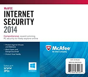 McAfee Internet Security 2014 - 3 User (PC)