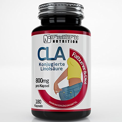 CLA 1000mg - 180 Kapseln - Die preiswerte Alternative