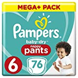 Pampers Baby Dry Pants with Air Ducts 30 (Size 6)