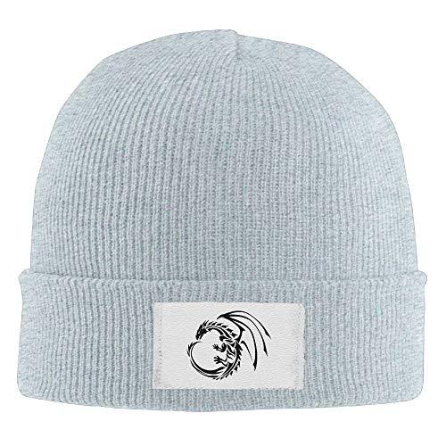 TGSCBN Erwachsenen Furz Laden elastische Strickmütze Mütze Winter im Freien warme Schädel Hüte Sport